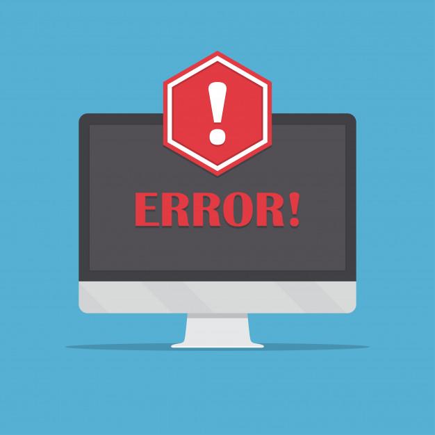 Erreur 404 site internet